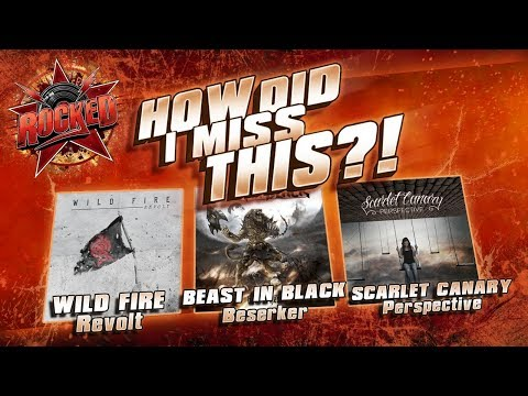 How Did I Miss This?! | Wild Fire – Beast In Black – Scarlet Canary | Rocked