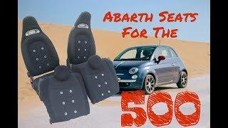 Seat swap on a fiat 500