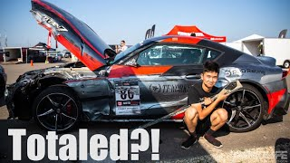 Totaled?! 2020 Toyota Supra Crash Damage... and the Next Step! Project TA90 #11