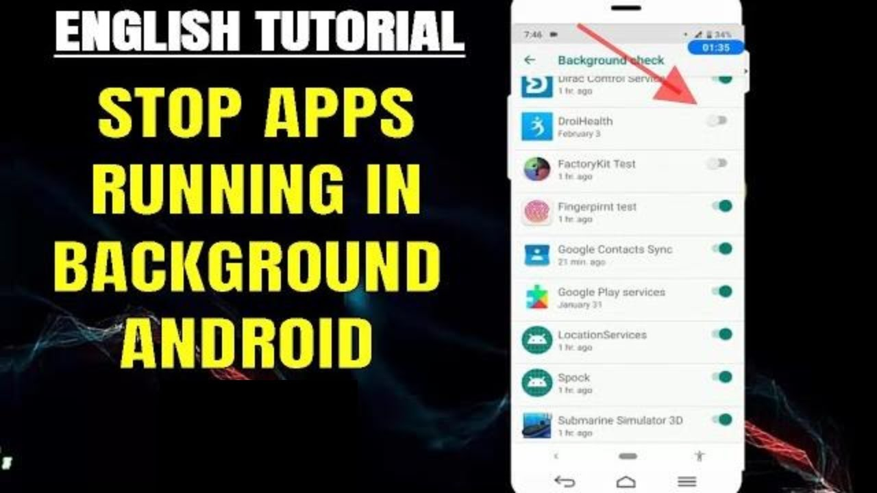 How To Stop/Close Background Running Apps On Android 2019 [Without Any App]