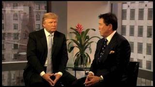 "Financial Literacy Video - Donald Trump and Robert Kiyosaki ""The Art of the Deal"""