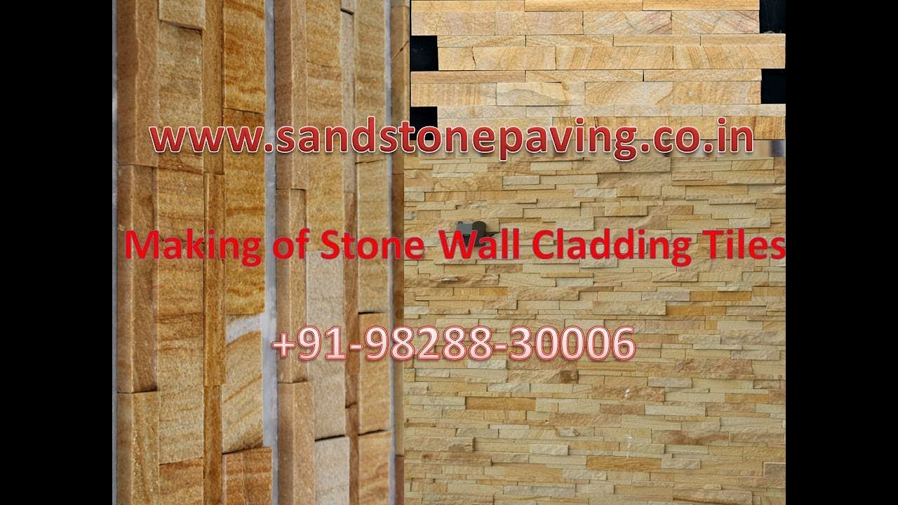 Making Of Stone Wall Cladding Tiles Direct from Factory