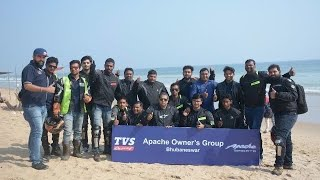 TVS Apache Series Breakfast Ride | First AOG ride in Odisha