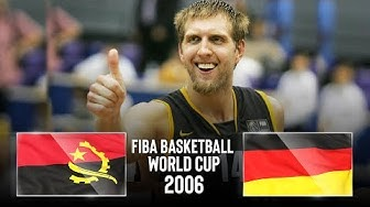🔴 - Angola 🇦🇴 v Germany 🇩🇪 - Classic Full Games | FIBA Basketball World Cup 2006
