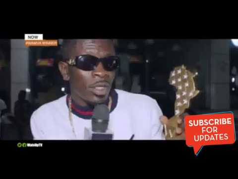SHATTA WALE WON BEST DANCE HALL ARTIST IN AFRICA/2017