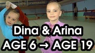Dina & Arina Averina – Gymnastics Evolution (age 6 to 19)