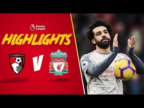 Salah nets a hat-trick | Bournemouth 0-4 Liverpool | Highlights Mp3