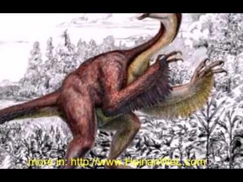 Anzu wyliei dinosaur Chicken Hell Sumerian winged  динозавр Цыпленок из ада Шумерский вестник