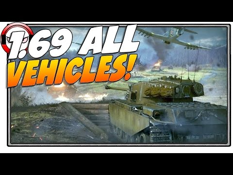 War Thunder Patch 1.69 All New Vehicles! (Patch overview)