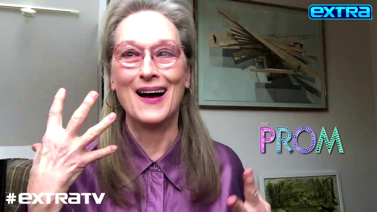 'The Prom' Star Meryl Streep Dishes on the Wardrobe Malfunction at Her First Prom