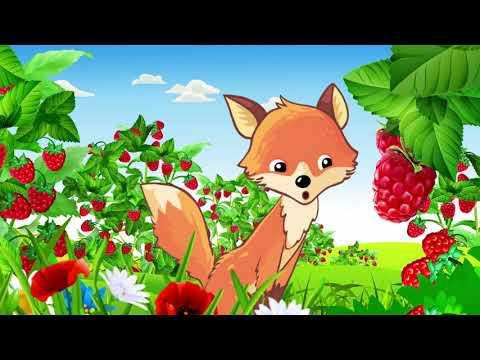 Растем с Малюткой. Песенка про ягоды и фрукты