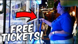 This is How You Get Free Tickets At The Arcade... ArcadeJackpotPro