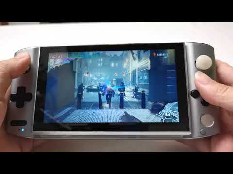 GPD WIN 3 video with Devil May Cry 5 ALL HIGH SETTING