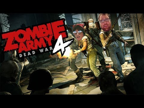 Zombie Army 4: Dead War - Stomping Out The Dead w/ Kristen | E3 2019 Demo Gameplay