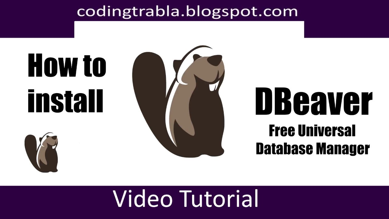 How to install DBeaver 4 3 2 on Windows 10 byVY