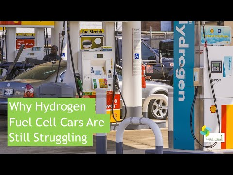 Why Hydrogen Fuel Cell Cars Are Still Struggling