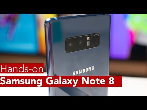Thumbnail: Samsung Galaxy Note 8 Hands-on