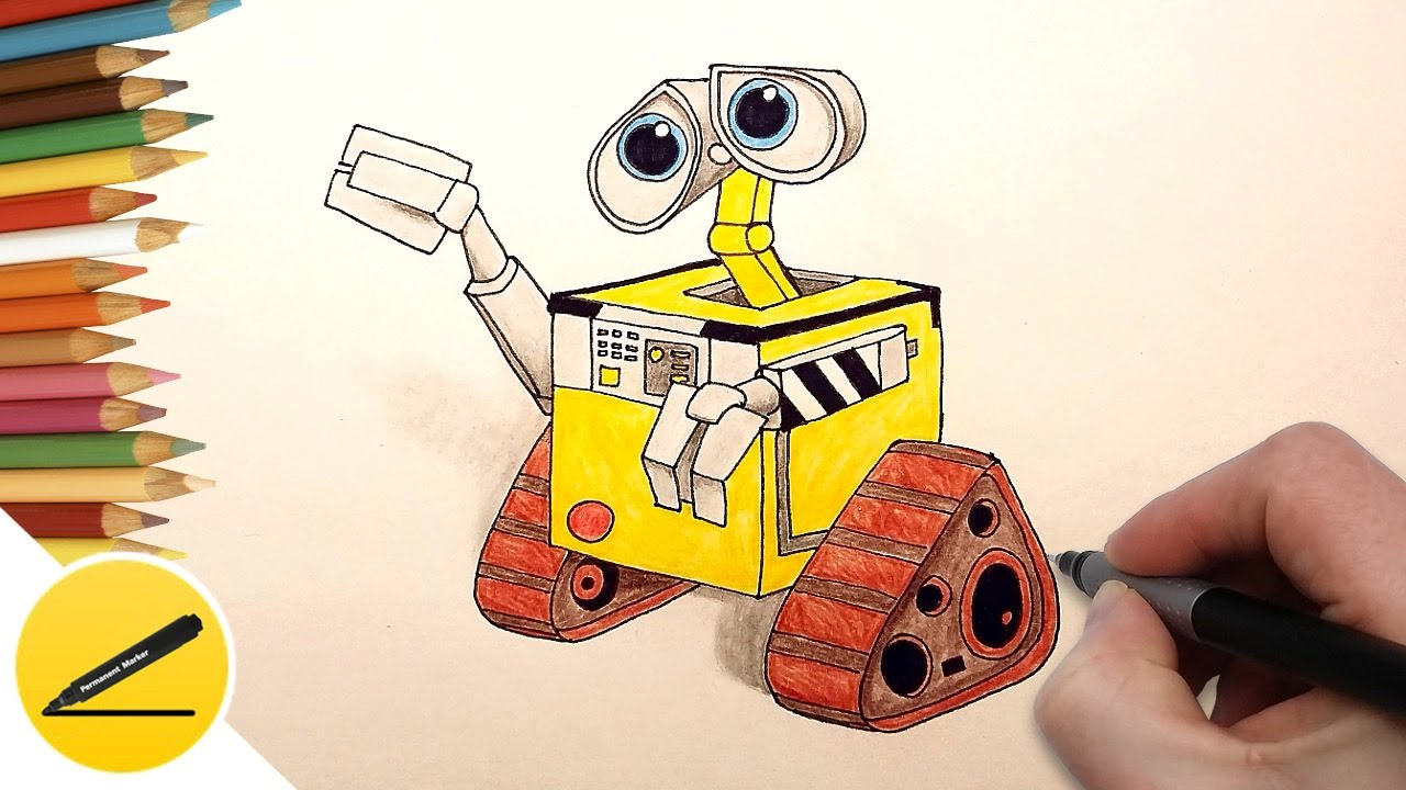 VTech WALL-E Learning Laptop - Disney Pixar Walle - YouTube