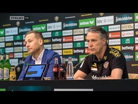 26. Spieltag | SGD - FCH | Pressekonferenz vor dem Spiel