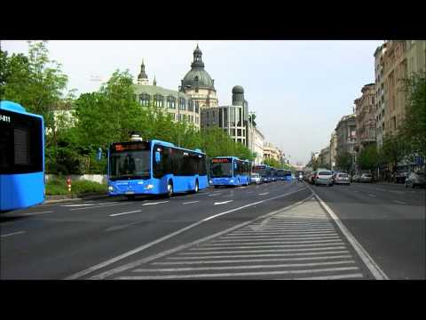 Mercedes-Benz Citaro buses in Budapest