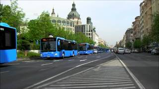 Mercedes-Benz Citaro buses in Budapest