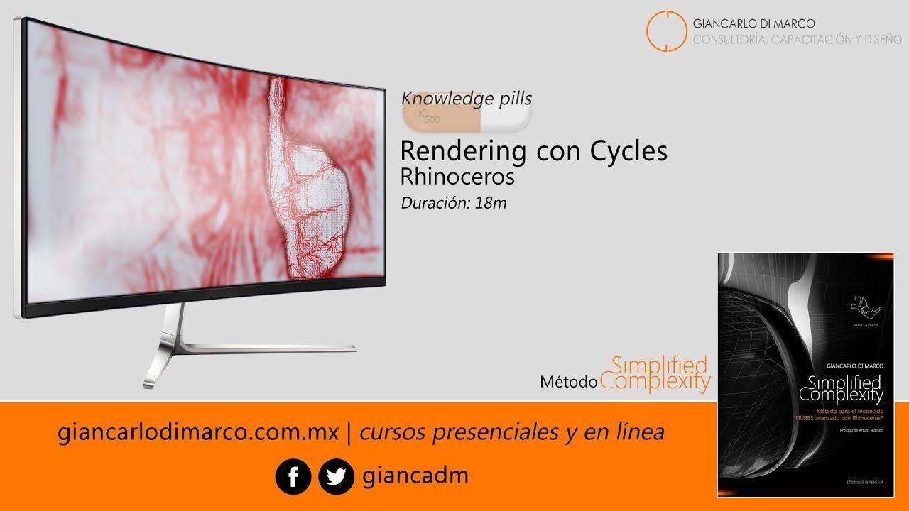 Rhinoceros - Rendering con Cycles