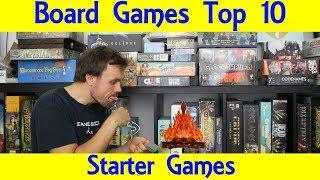 Top 10 Starter Board Games