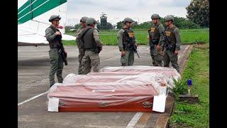 Imágenes del rescate de cuerpos que serían de periodistas asesinados por 'Guacho'| Noticias Caracol thumbnail