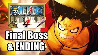 One Piece: Pirate Warriors 4 (2020) - Final Boss & ENDING [PS4 Pro]