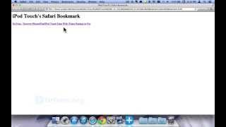iOS 7 iPod Touch 5 Recovery: Retrieve iPod Touch 5 Lost Data like Bookmark Directly on iOS 7