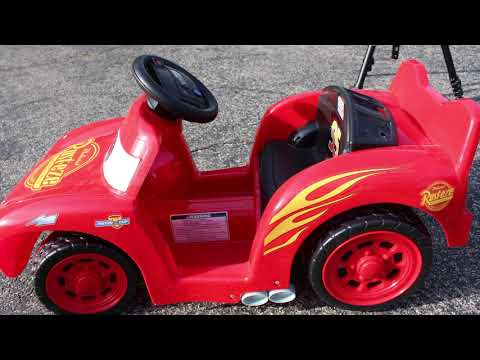 Toy Review: Power Wheels Lil Lightning McQueen