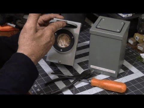 30-amp generator power inlet box Installation