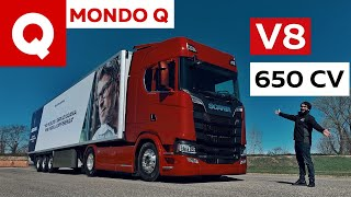 Come si guida un camion V8? | Tutti i segreti dello Scania S650 (4K)