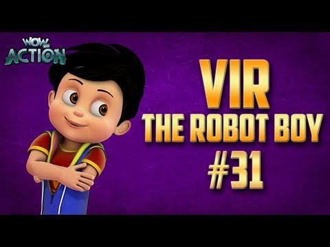 Vir: The Robot Boy | Hindi Cartoon Compilation For Kids | Compilation 31| WowKidz Action