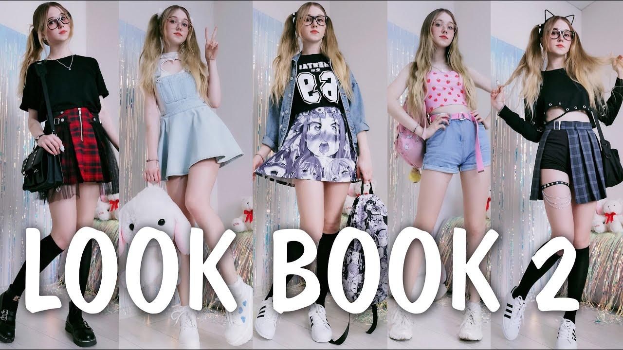 МОЙ ГАРДЕРОБ 2: одежда в стиле АНИМЕ, Kawaii, E-Girl / Look Book