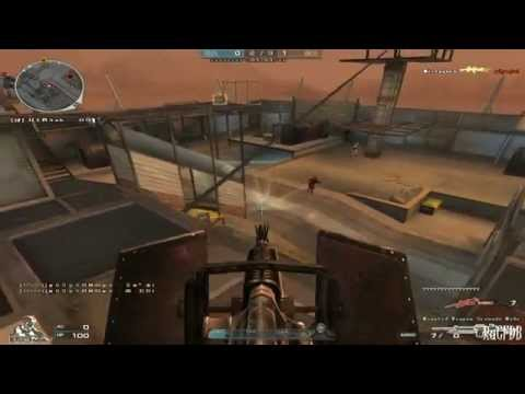 Chinese CrossFire: Desert Fortress(Mutation Knight Mode)[Gameplay]!