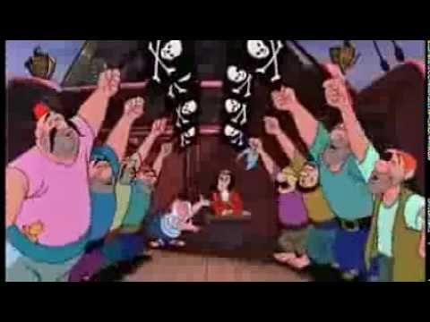 Para los peques-Canción del pirata -Peter Pan