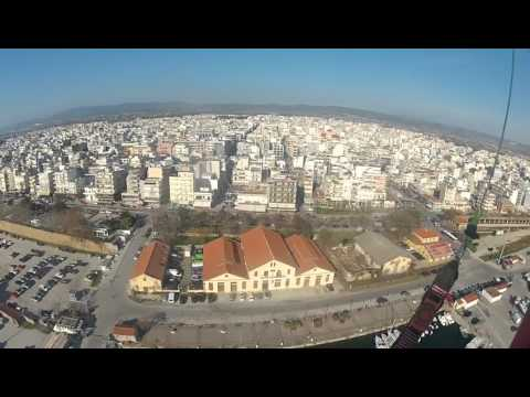 Airclub (AXD) Alexandroupolis - Paramotor flying above the city