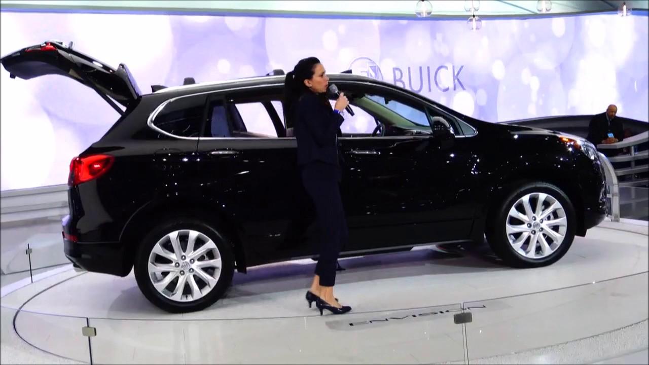 Detroit auto show 2018 buick envision