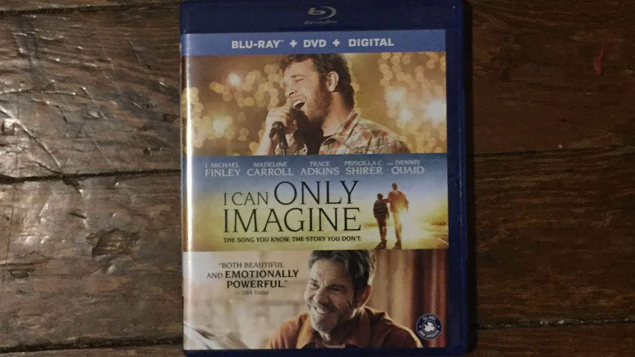 I Can Only Imagine (2018) Blu-ray Unboxing (Free Digital Copy)