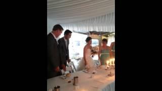H & Bird's Wedding 5 - Bridal Table - 20Oct2012.mp4
