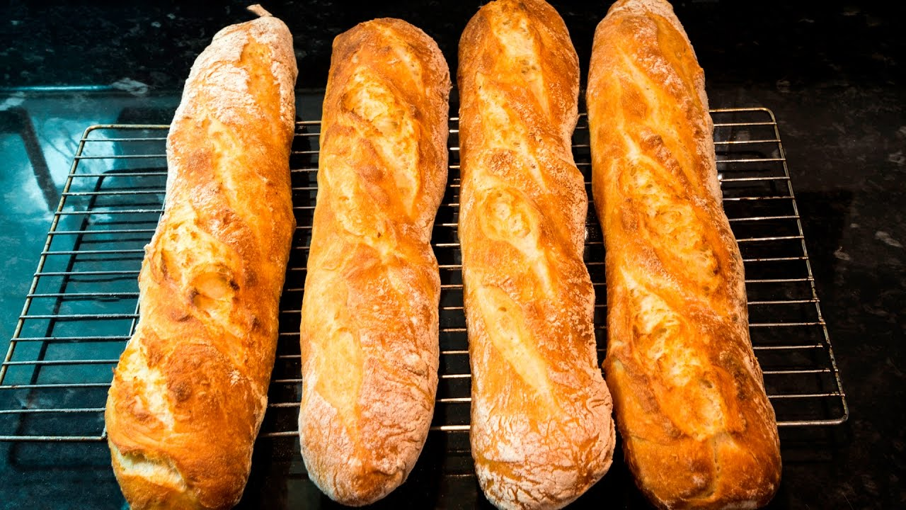 How To Make French Baguettes At Home Youtube
