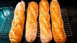 Download How to make French Baguettes at home Mp3 and Videos
