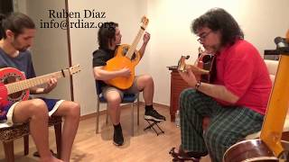 Create melodies on the Major key 7 (B) Learning Paco de Lucia´s style / Ruben Diaz flamenco lessons