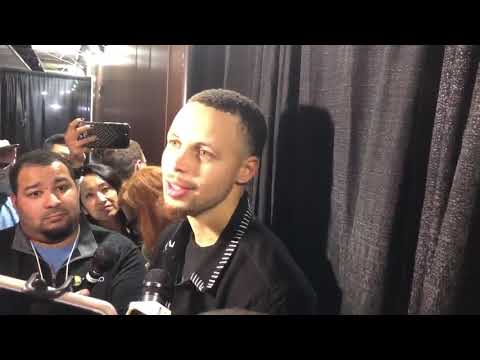 Stephen Curry on DeMarcus Cousins' debut   Warriors vs LA Clippers