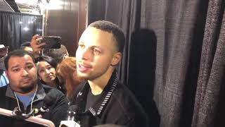 Stephen Curry on DeMarcus Cousins' debut | Warriors vs LA Clippers