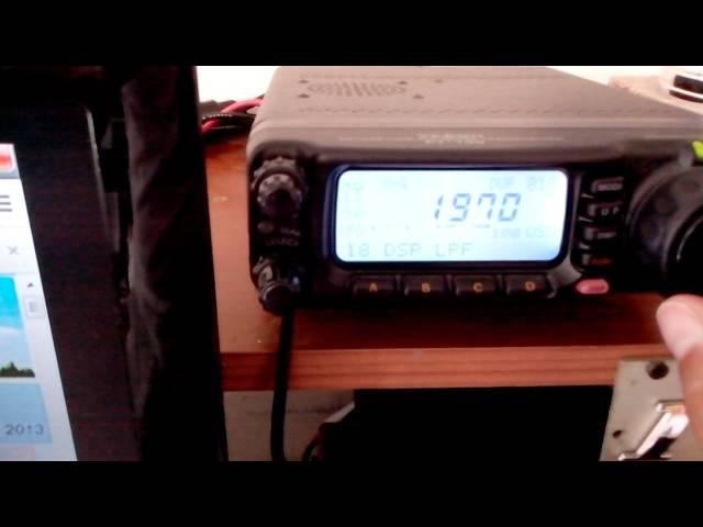 Funzionamento del Dsp su FT100 accoppiato con un sp2000 !