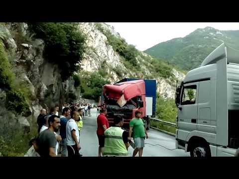 Scania crash accident