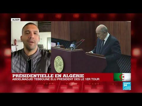 Présidentielle en Algérie : des appels pour qu'il y ait des manifestations tous les jours
