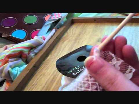 How To Make Simple Miniature Dollhouse Lace Curtains